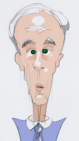 Ron Paul Illustration